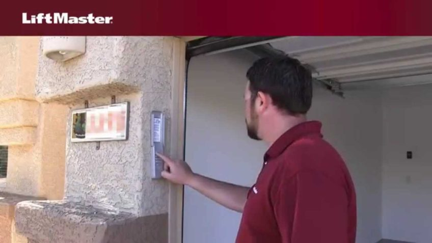 liftmaster – why is wireless keyless entry not working