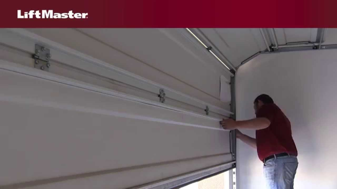 liftmaster – why won't my garage door open fully