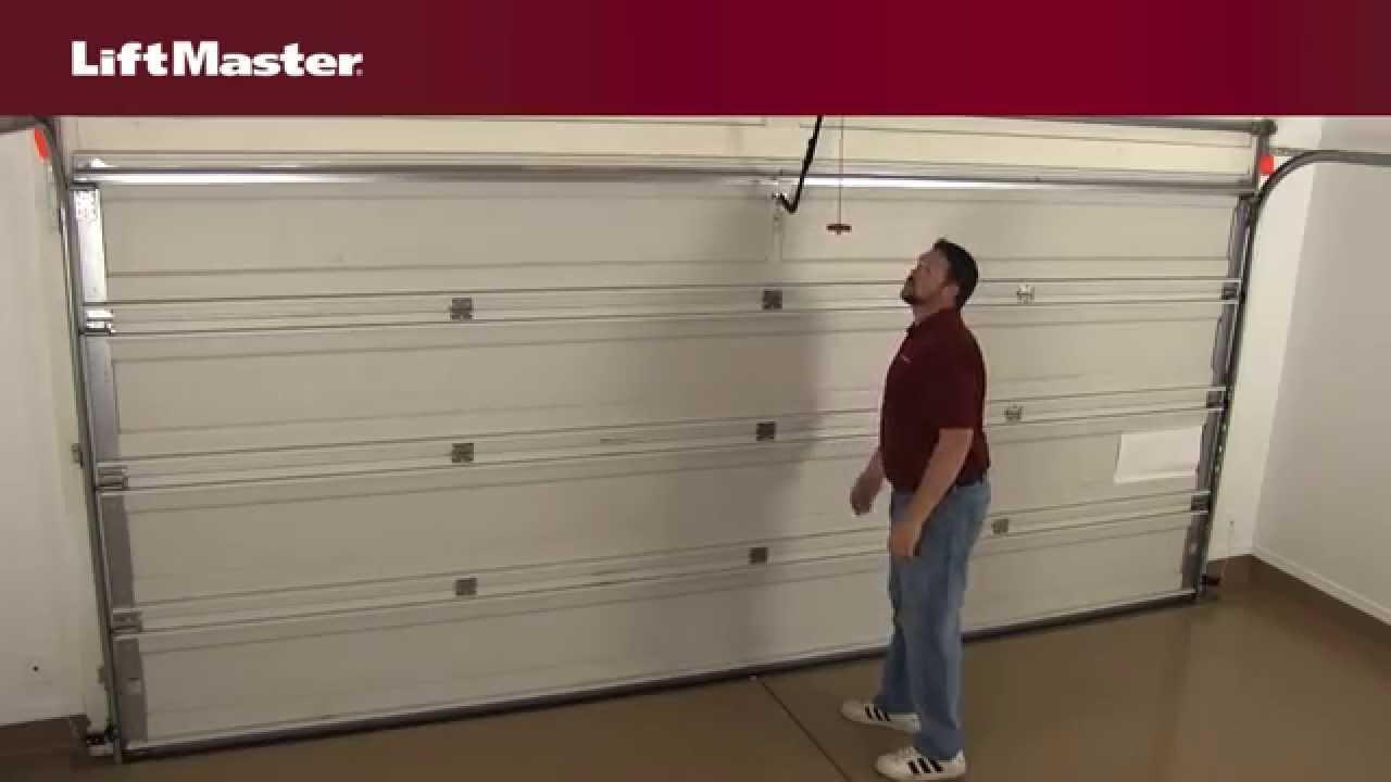 liftmaster – how to disconnect your garage door from the garage door opener